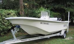 2008 Carolina Skiff 198 DLV 2008 Suzuki DF115 (500 Hours) 2016 Wesco Trailer (New) Location: Bluffton, SC This solid 198 DLV has been well maintained during it's 500 hours of use. The last service was done in March of this year. This boat has a new