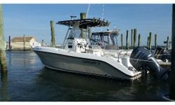 """**** ALL REASONABLE OFFERS CONSIDERED MAKE AN OFFER **** 2007, CENTURY, 2301, Center Console, W/ T-Top, 2007, YAMAHA, 250 Hp 4 Stroke, Hours: 750, (Boat & Motor PKG). Length:23 Beam: 8' 6"""", Dry weight: 4,150 lbs, Fuel: Capacity: 140 Gallons, Max Speed:"""