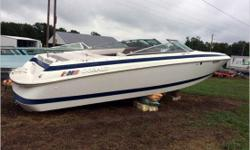 General Description Great style and performance on a well-built hull. Perfect for entertaining on the water! Actual Condition This great boat hit a submerged object and suffered damage to the outdrive. It is reported the drive will need to be replaced.