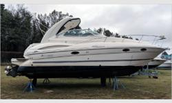 General Description Cruisers Yachts builds an exceptional boat with lots of emphasis on style and quality. This is apparent when you see this 300 Express. Actual Condition It is reported this 300 Express was flooded during Hurricane Florence. The hull