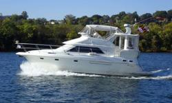 PRICE JUST REDUCED - TAKE ADVANTAGE OF LATE SEASON SAVINGS!!! No expense has been spared maintaining and upgrading this fine example of Cruisers Yachts contemporary 3750 model. This well engineered yacht delivers the accommodation of a 40-footer,