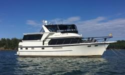 Dream Fever is a 1986 47' DeFever POC in very nice condition. She has been updated and well- maintained by all her previous owners. She offers twin Caterpillar 3208 375 hp main engines, Onan 15 kW generator, dual Racor fuel filters, Fuel polishing system,