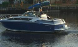 THIS IS A RECENTLY RE-POWERED CRUISER BY FORMULA. IT HAS HAD A NEW MERCRUISER 357 V-8 CRATE MOTOR INSTALLED WITH UNDER 50 HOURS ON IT! THIS CLASSIC CRUISER WILL GET YOU INTO OVERNIGHTING , WEEKENDING AND CRUISING ALL WITHOUT BREAKING THE BANK. IT