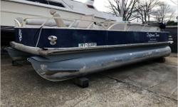 General Condition Whether you enjoy cruising, fishing, camping, playing, or just exploring the water, Grumman is dedicated to building you a superior product. Your Grumman pontoon will provide a comfortable ride! Actual Condition In her previous life,