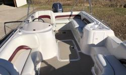 2003 Hurricane FD 201 GS 2003 Hurricane FD 201 GS, 2003 Yamaha Z150 HPDI (direct injected 2 stroke), Custom Tennessee Bunk Trailer, Fishing seats, Snap in Carpet, Cover, Bimini top. Motor has 264 hours. Very nice shape, always kept under cover, interior