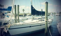 CATS MEOW is a Jeanneau Voyager 11.20. 3 SR model w/ sink in each SR. Galley on Starboard and a Convertible Settee on Port. Marine Air AC, Mase 4kw genset, Yanmar Diesel 44hp w/ 842 hours Good Sail inventory: 2 Spinnakers, 3 Genoa's and a Banks Main. Has