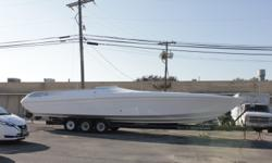 Opportunity to own a classic. 40' Midnight Express Euro Super Hawaii. Powered by fresh twin Mercruiser 454's with Bravo One Drives. (485 Hours) Hull is solid with recent upgrades including interior. Includes Kohler Generator with Air Conditioning and