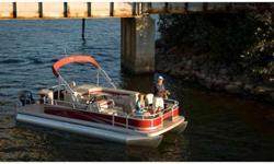 "Michigan's oldest and largest Bennington pontoon dealer! Our boat comes with the new Smokey Granite Panels, Ivory Interior, 25"" Pontoons, Raised Chrome Logos, Full Vinyl Flooring, Garmin Graph, Reclining Helm Chair, Tilt Steering, 4 Pole Rod Holder,"