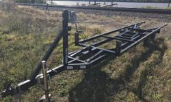 PONTOON LIFT TRAILER HAS BEEN USED ON OUR LOT BY US TO PUT BOATS IN STORAGE.