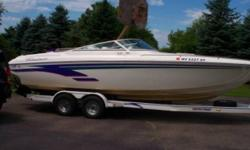 1999 Powerquest 260 Legend SX Taken immaculate care of this boat since. Always using Premium Gasoline. This boat looks nice goes fast easy on fuel and is fairly unique to this area. Powerquest boats are Custom made to order. Not the original owner but
