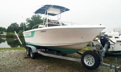 Go fishing in this pre-owned 1994 Proline 210 it's fully loaded and ready to go! This Proline may have some years on it but it's still in great condition! Please call or come by for more details and remember to have the stock number ready! Stock