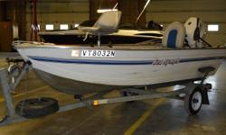 Don't break the bank buying a fishing boat save some money and get this pre-owned 1995 Sea-Nymph! This Sea-Nymph is inexpensive and in great condition! Please call or come by for more details and don't forget the stock number! Stock Number-G3192A All boat