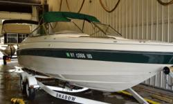 Don't be fooled by this boats age is still in great condition! This pre-owned 1996 Regal Valenti is ready to head back to the water and get some sun This Regal is priced to sell don't miss out! Please call or come by for more details and remember to bring