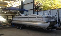 225 hp Yamaha four stroke. Great boat for cruising, skiing, fishing, and entertaining. Plenty of power! One owner boat kept in excellent condition. Ask for Cole or send email with anyquestions. Fully loaded and ready to navigate the most remote fishing