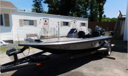 Actual Condition It is reported a pine tree landed on this Skeeter, while stored under a tent, during a heavy wind storm. There is damage to the starboard top deck, engine cover, and trailer step. It is best to inspect for any other damage. Now taking