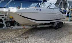 Lightly used 2014 Starcraft 210 SCX Powered by A Yamaha F150 HP Outboard Motor. Equipped with Bimini Top, Ray Marine GPS, Stereo and Continental Aluminum Tandem Axle Trailer And Much Much More! Trailer Included Please Call Bob @239-415-6400 For More