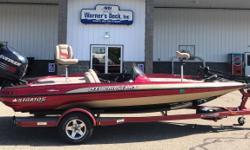 """2003 Stratos 19XL, Evinrude 200hp DI, SS Prop, Hydraulic Steering, 8"""" Manual Jack Plate, Hot Foot Throttle, Custom Bunk Trailer, Swing Tongue, Spare Tire, Brakes, Ratchet Tie Downs, Lowrance X51 @ Bow, Lowrance X51 @ Console, Minnkota Maxxum 74# Thrust"""