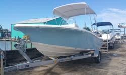 New 2016 Tidewater 198 CC Adventure with Yamaha F150XB Sky Blue sides, Aerated Livewell ( 12 gal), Hydraulic Steering, Pull Up Cleats, Rear Jump Seats, Swim Platform, Driftwood Cushions, Lean Post, Bimini Top, Cockpit Bolsters, Bow Bolsters, Bow Cushion,