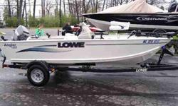 Deep V Angler with nice horsepower! This rig is powered by a Mariner 50hp 2-Stroke. For more details call us now today at 800-875-2620 or view Michigan's largest selection of boats direct only at www.wilsonboats.com Stock ID: 28628 Specs Length Overall