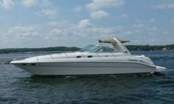 PRICE JUST REDUCED $20,000 Immaculate, 1 owner, Freshwater, Express Cruiser with only 249 Hours on MerCruiser Inboards. Posh cherrywood interior is designed to permit guest cabin to be pre-owned for additional salon seating. Sleek styling with reverse
