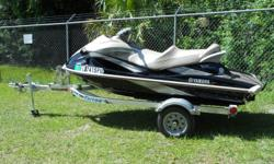 2008 YAMAHA WAVERUNNER VX CRUISER 4-STROKE. THIS RIG IS IN EXCELLENT CONDITION AND WAS GARAGE KEPT. THIS WAVERUNNER COMES WITH A TRITON ALUMINUM TRAILER. GIVE US CALL TO GET YOU OUT ON THE WATER TODAY!!! ONLY 15.3 HOURS!!!! Fuel tank capacity: 16 Stock